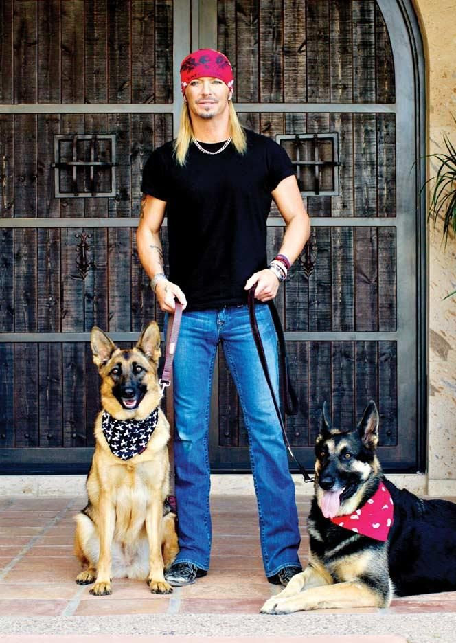 Bret Michaels & German Shepherds! Wooohooo!!!
