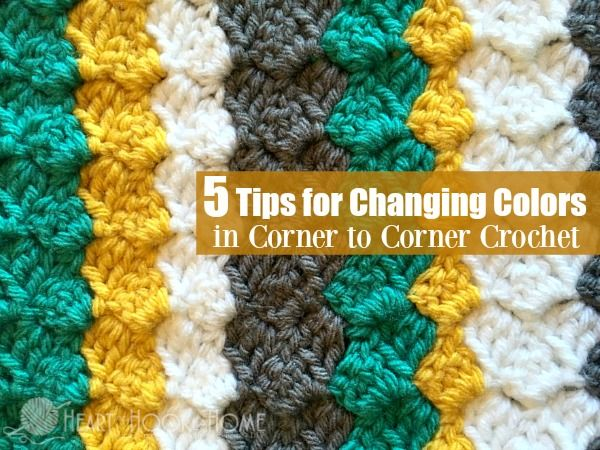 Are you ready to start changing colors in corner to corner? Once you get the hang of it, you'll be a color changin' fool. Let me teach you how!
