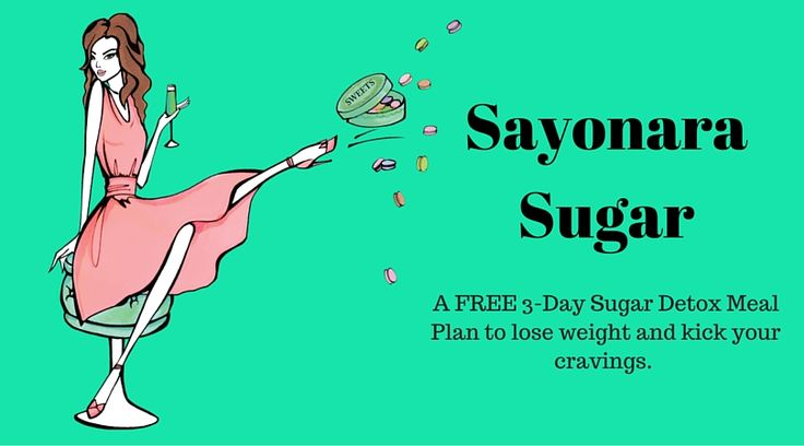 Say Sayonara Sugar - Maria Marlowe Say Sayonara Sugar - Free 3-Day Sugar Detox Meal Plan by Maria Marlowe! She know what she's talking about.  Learn what Maria Marlowe has to say about kicking sugar to the curb.   Interested in a longer sugar cleanse go to www.mariariccihealth.com to get my 14 Day Sugar Cleanse. #byebyesugar #sugardetox #sugarcleanse