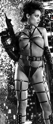 "Rosario Dawson in ""Sin City (Frank Miller's Sin City)"" (2005). DIRECTOR: Robert Rodriguez, Quentin Tarantino, Frank Miller."