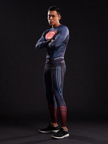 Superman 3D Unique Design Men Compression Fitness Training Leggings  #Superman #3D #Unique #Design #Men #Compression #Fitness #Training #Leggings