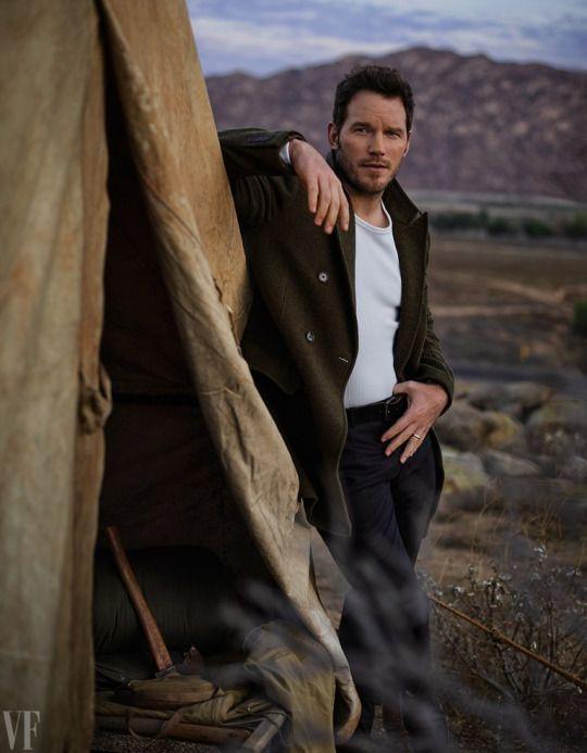 Chris Pratt for Vanity Fair (2017) - I have a sudden desire to go camping.
