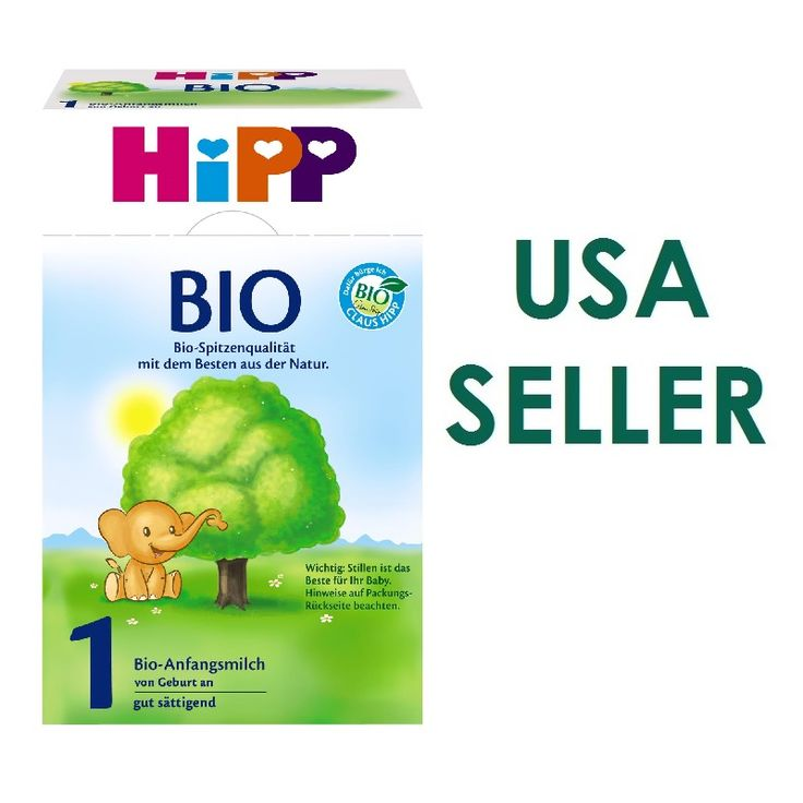 HiPP Bio Stage 1 from Birth 600g (German Box and Formulation)