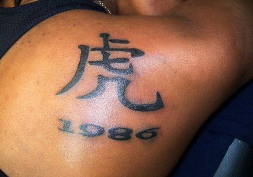 meaning-chinese-tattoo-design-for-men-on-upper-back ~ http://heledis.com/the-unique-and-distinct-chinese-tattoo-design/