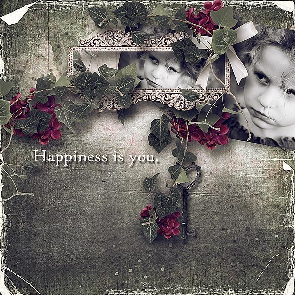 Nostalgic Happiness - collection with quick pages & FWP by DitaB Designs