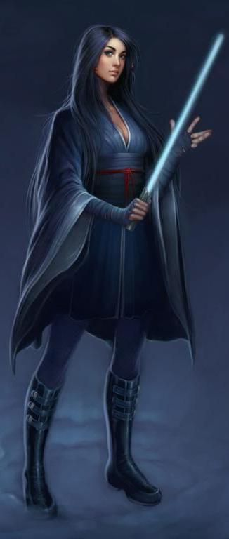 Oli Lu Elfor. Cavaleira Jedi. ~ Star Wars - Jedi