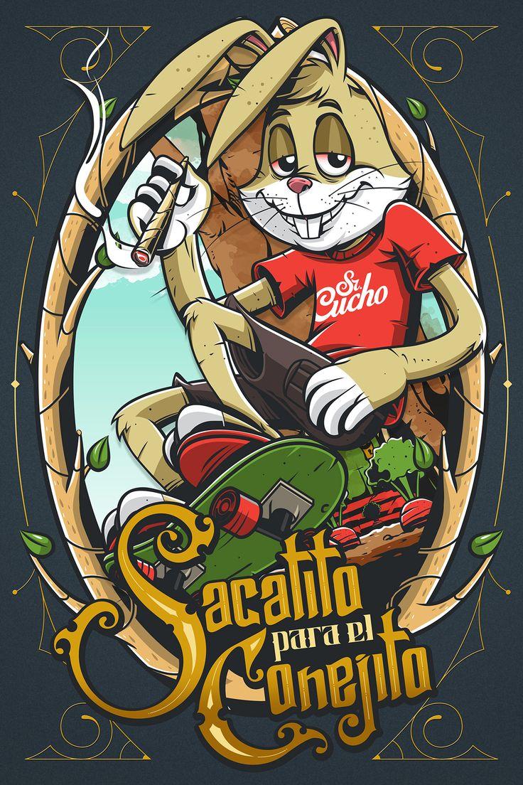 Sacatito第下午Conejito上Behance