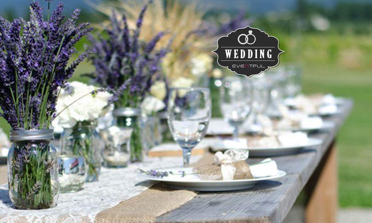 WE LOVE LAVENDER WEDDING THEMES!