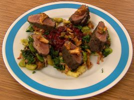Delikatna gęsina, biłgorajska żurawina i jesienne kurki to najlepsze połączenie (fot. mat. promocyjne)