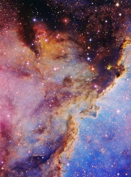 Nebula... It's so beautifully mystical out there...
