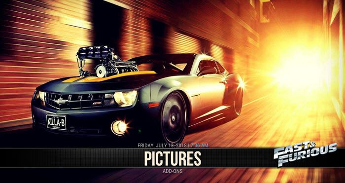 Fast Theme Kodi Build Guide Car Backgrounds Car Wallpapers