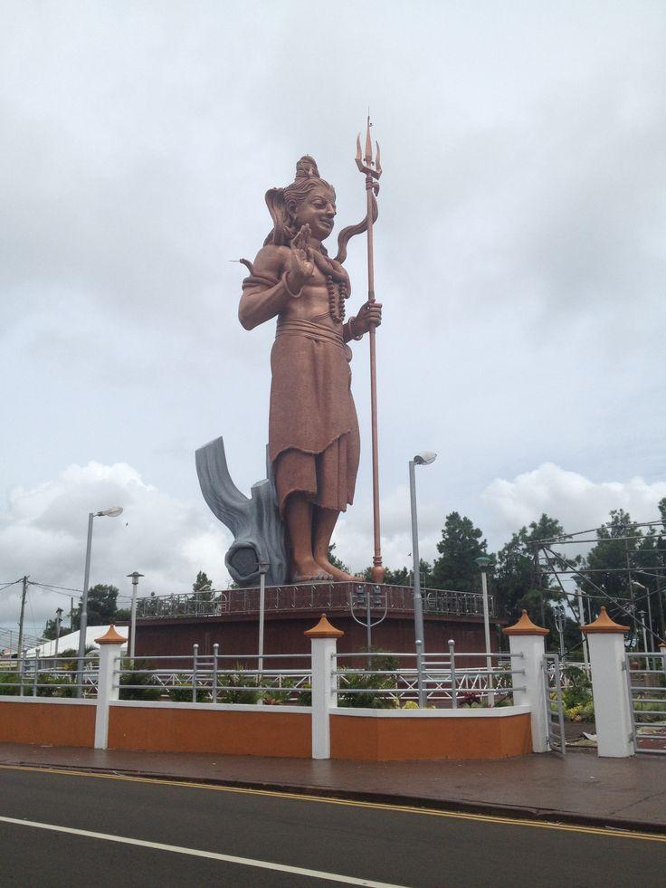 Statue géante Indienne Shiva, Grand Bassin