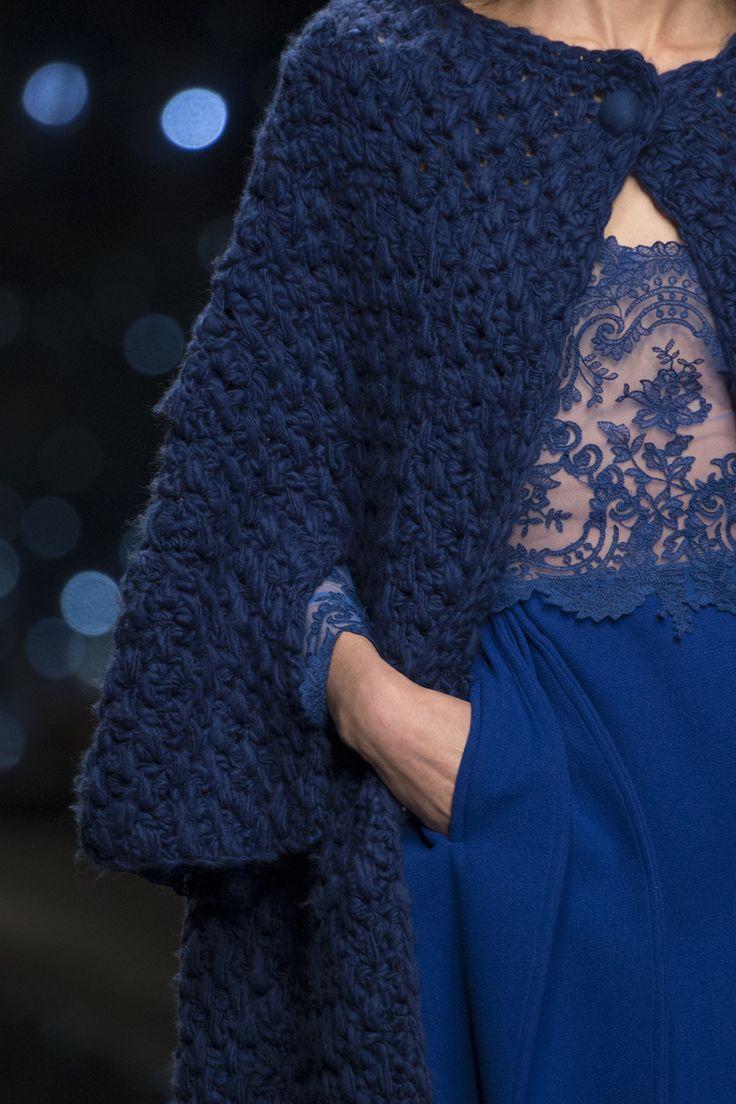Details from Ermanno Scervino Women's F/W 2015-16 fashion show #ErmannoScervino #ScervinoLive