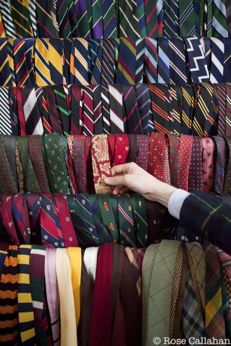 I never wear ties but I love all these preppy patterns.