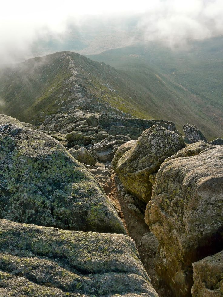 Mt. Kathadin Hike, Baxter State Park, Maine. Last challenge of the appalachian trail (hiking south to north) #maine #hike #katahdin