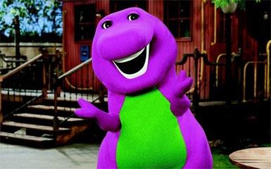 Barney the dinosaur.