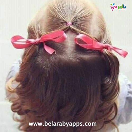 تسريحات اطفال سهلة ومميزة للمدرسة Hair Styles Girl Hairstyles Hairstyle