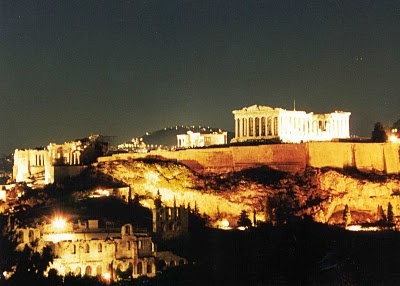 how bout enjoying this view of the Acropolis from your Athens hotel room ?