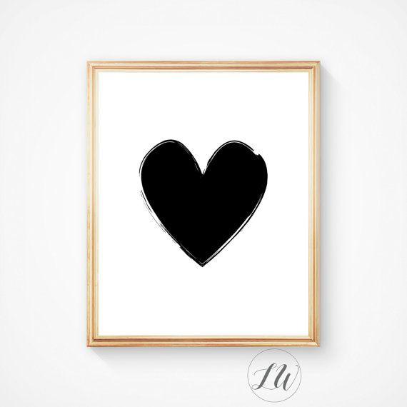 Anniversary gift Scandinavian art Geometric von LoveWonderPrints