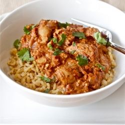 My first experience making Indian food was a complete success with this warm and cozy slow cooker meal.