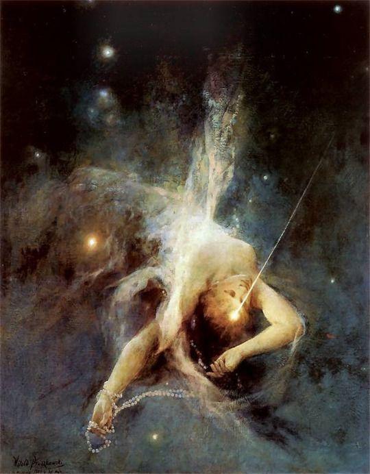 Witold Pruszkowski (1846-1896) - Etoile tombante, 1884The silence