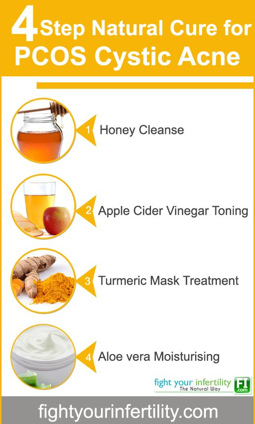 Pcos Acne Natural Cure