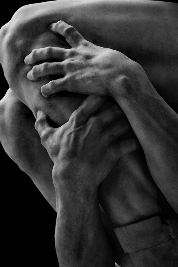 Jean Baptiste Carpeaux, Ugolino and His Sons; detail---I'm still stunned at the detail of some sculptures