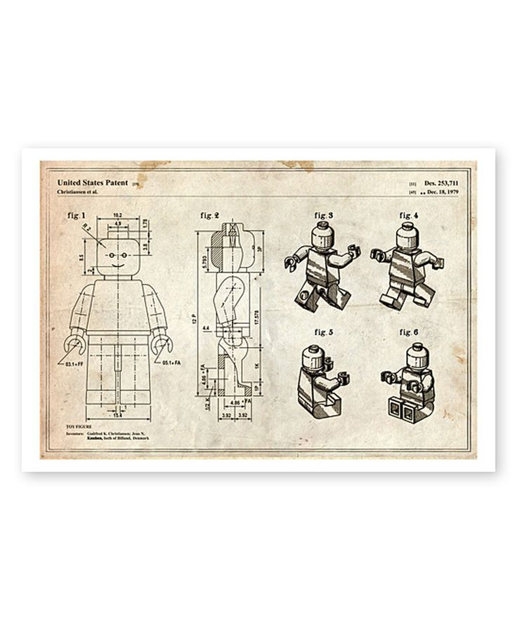 Look at this Figurine 1979 Parchment Blueprint Art Print on #zulily today!