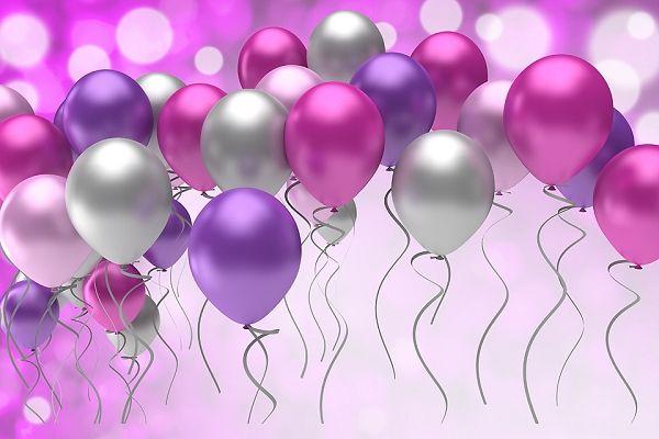Rising Balloons 5 - Splash Of Color