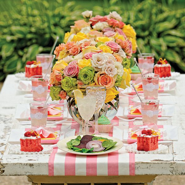 Summer Beach Tablescape And A Summer Tablescape Party: 25+ Best Ideas About Sandra Lee Tablescapes On Pinterest