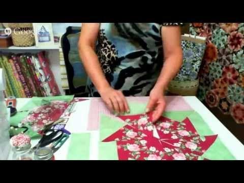 Arte e Manhas da Tia Lili: colcha delicada (feita com fat quarters!) - YouTube