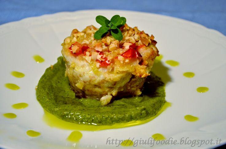 Giuli Foodie, le mie ricette in cucina: Turbantino di Spigola  con Crema di Zucchine