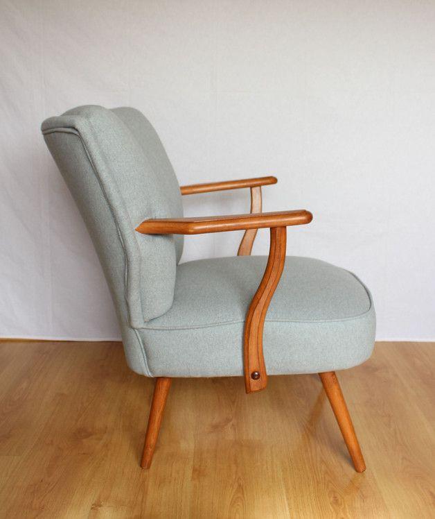 Sofas U0026 Sessel   Vintage Cocktail Sessel 60er Jahre   Ein Designerstück Von  Ortons Bei DaWanda