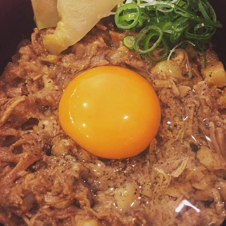 'スタミナ黒豚めし' @ カドヤ食堂 本店 名古屋コーチンの生卵 濃厚な旨味 by noshiroya124