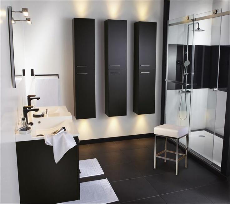 17 meilleures images propos de salle de bain sur pinterest design d 39 int rieur maison salle. Black Bedroom Furniture Sets. Home Design Ideas