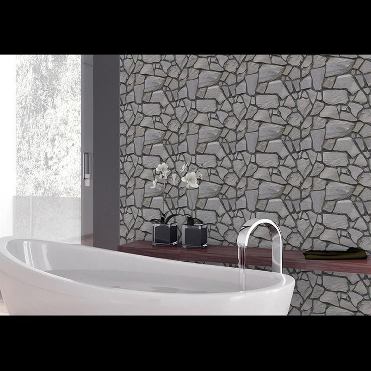 Self Adhesive 3D Wallpaper for Bathroom or Kitchen
