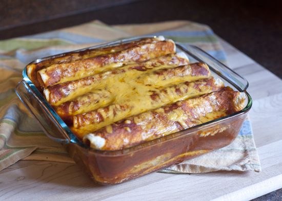 Easy Beef Enchiladas | Recipes | Pinterest