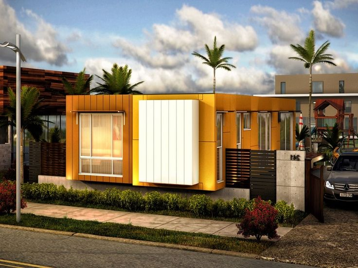 Beautiful Modern Prefab Cargo Container Home ~ http://lanewstalk.com/the-out-of-the-box-cargo-container-homes/