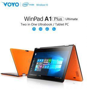 Deze laptop / tablet in één is de ideale combinatie! Daarnaast ook nog eens voorzien van Android 5.1 & Windows 10! De Voyo A1 Plus is ook nog eens voorzien van een heel mooi design! Te gebruiken voor school, thuis, werk, ontspanning! Nu €215 !!  http://gadgetsfromchina.nl/voyo-a1-plus-laptoptablet-dual-os/  #gadgets #gadget #sale #laptop #tablet #voyo #dual-OS #Android #windows #Win10  #wifi #men #gift #cadeau #design #lifestyle #style #home #business #school #Gearbest #Gadgetsfromchina…