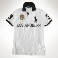 Ralph Lauren SUI Signature Big Pony White Leisure Sporty Polo