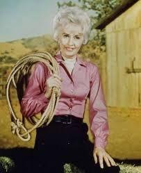 """Barbara STANWYCK a joué dans bon nombre de séries télévisées, comme dans """"La grande vallée"""" de 1965 à 1969, aux côtés de Lee MAJORS et Linda EVANS (photos) ; """"Dynastie II : les Colby"""" en 1981 (photo) ; """"The Barbara STANWYCK Show"""" de 1960 à 1961 qui lui vaudra un Emmy Awards (photo aux côtés de Raymond BURR)... ou encore en 1983, dans """"Les oiseaux se cachent pour mourir"""", etc..."""