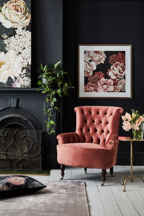 Give you home a little Luxe - Embracing this season's biggest home décor trend couldn't be easier with a new velvet chair.