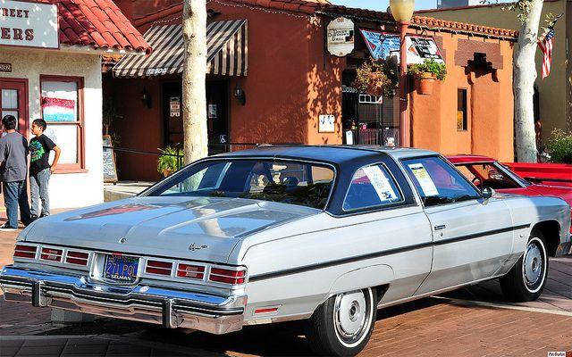 1976 Chevrolet Caprice Classic With Landau Roof Option