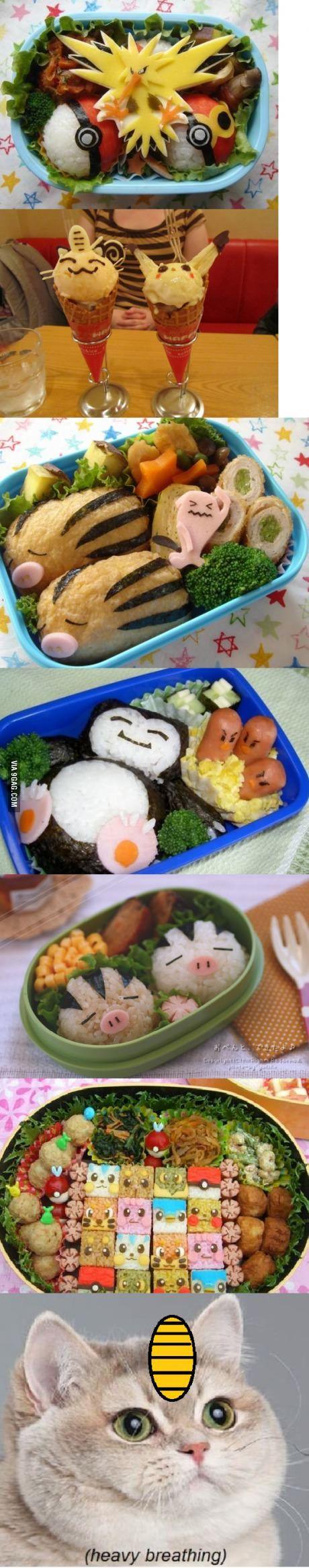 Awesome Pokemon food art