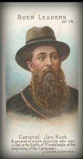 Boereleiers: Nr.14 ~ Gen. Jan Kock.