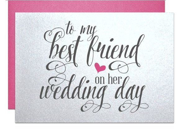 Best Wedding Gift Ideas For Best Friend: 1000+ Ideas About Best Friend Wedding On Pinterest