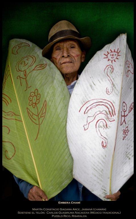 Míranos. Estamos Aquí: Taita Embera. Antonio Briseño 2012. #SomosTurismo
