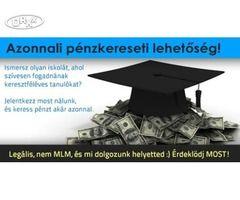 Keresztféléves iskolákat keresünk. Azonnali pénzkereseti lehetőség! Budapest IV. kerület - Orxx Ingyenes Apróhirdetés