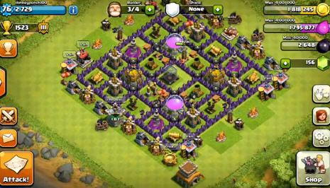 how to get level 8 walls clash of clans