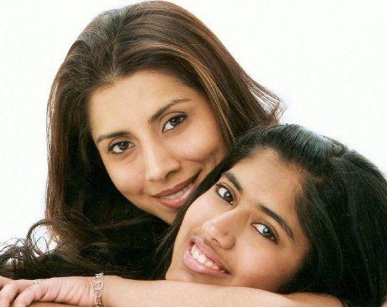 Malti with daughter Drishti